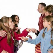 حل اختلافات خانوادگی بر اساس نظریه خانواده درمانی