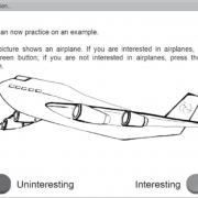 نمایی از MOI گروه آزمون چند روشی مربوط به علاقهمندیهای ذهنی