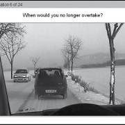 نمایی از WRBTV آزمون ترافیک مربوط به ریسک رانندگی وینا