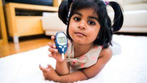 دیابت وابسته به انسولین در کودکان